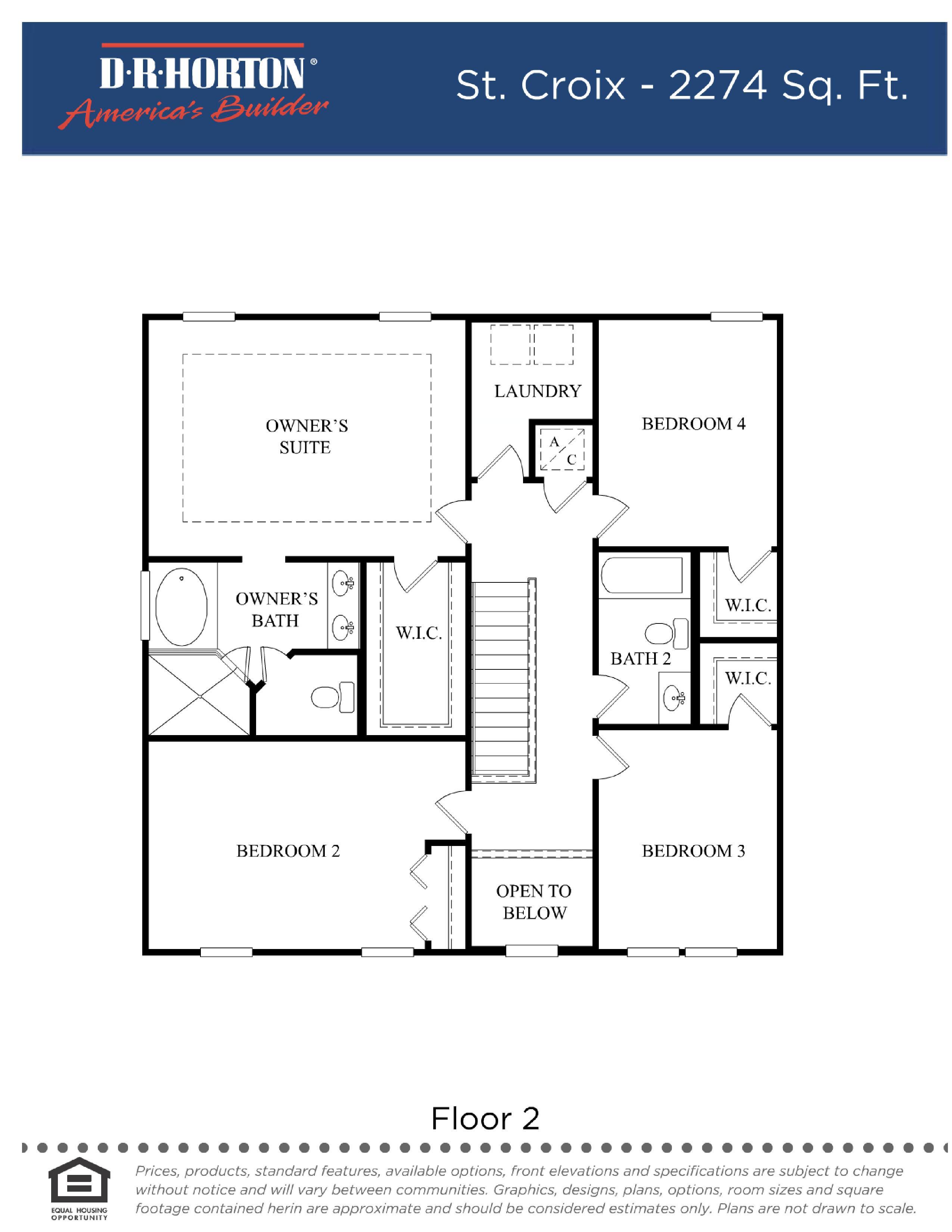 Dr horton floor plans for Floor plans florida