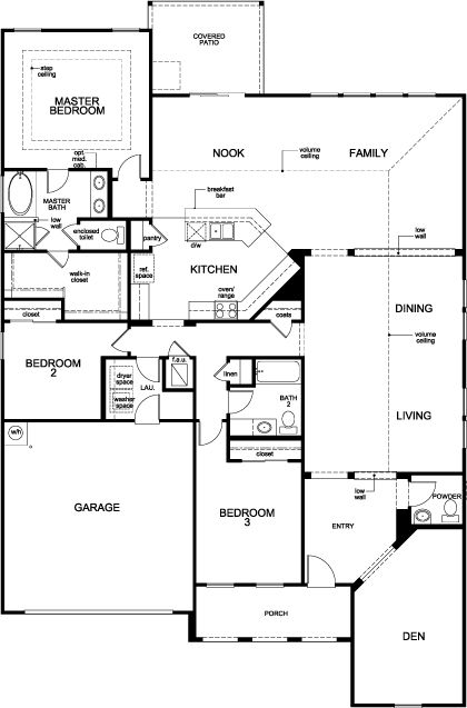 kb homes floor plans