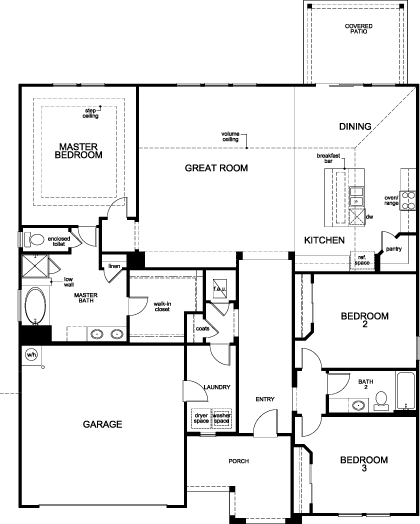 Kb homes floor plans summerlake in winter garden by kb for Summerlake house plan