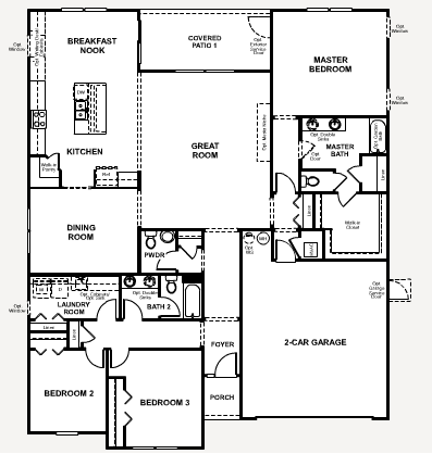 Richmond american floor plans for American home plans